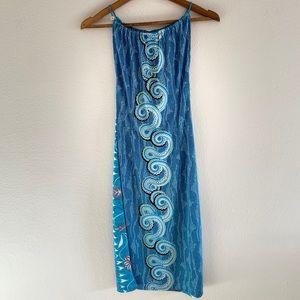 BCBG MaxAzria Elements Blue Dress